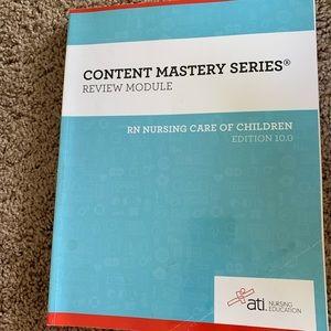 ATI RN nursing care of children review book